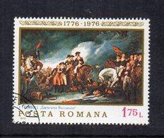 """ROMANIA - 1976 - Francobollo Tematica """" Arte - Quadri """" - Usato - (FDC12025) - Arte"""
