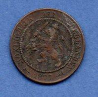 Pays Bas- 2 1/2 Cent 1877  -  Km # 108 -  état TTB  - - [ 3] 1815-… : Royaume Des Pays-Bas