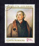 """ROMANIA - 1976 - Francobollo Tematica """" Arte - Quadri """" - Usato - (FDC12026) - Arte"""