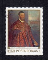 """ROMANIA - 1969 - Francobollo Tematica """" Arte - Quadri """" - Usato - (FDC12028) - Arte"""