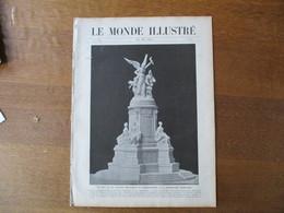 LE MONDE ILLUSTRE N°2722 29 MAI 1909 JEANNE D'ARC COMMEMOREE A COMPIEGNE,FUNERAILLES DE L'EMPEREUR DE CHINE,GREVE DES PO - Books, Magazines, Comics