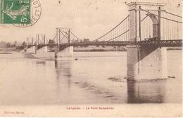 37 - Langeais - Le Pont Suspendu - Langeais