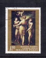 """UNGHERIA - 1968 - Francobollo Tematica """" Arte - Quadri """" - Usato - (FDC12032) - Arte"""