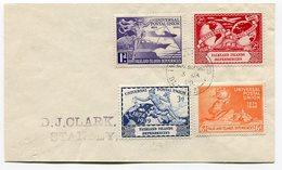 RC A10073 FALKLAND 1950 SERIE UNIVERSAL POSTAL UNION SUR LETTRE TB - Falklandeilanden