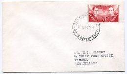 RC A10076 ROSS 1970 LETTRE POUR TIMARU NOUVELLE ZELANDE TB - Dépendance De Ross (Nouvelle Zélande)