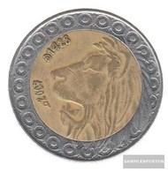 Algeria Km-number. : 125 1999 Very Fine Bimetall 1999 20 Dinars Leo - Algeria