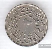Egypt Km-number. : 345 1929 Stgl./unzirkuliert Copper-Nickel 1929 2 Milliemes Fuad I. - Egypt