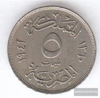 Egypt Km-number. : 363 1941 Extremely Fine Copper-Nickel Extremely Fine 1941 5 Milliemes Farouk - Egypt