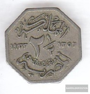 Egypt Km-number. : 356 1933 Very Fine Copper-Nickel Very Fine 1933 2 1/2 Milliemes Fuad I. - Egypt
