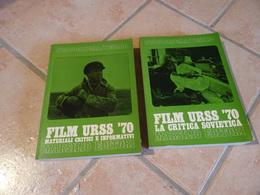 2 Tomes Film URSS '70 La Critica Sovietica - Marsilio Editori - Autres