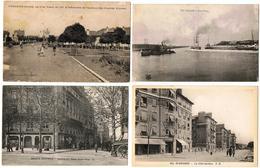 Lot 10 CPA & CPSM France  / Tergnier, Suresnes, Proprières, Société Générale, Helvetia ... / A Voir !!! - Cartes Postales