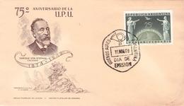 ARGENTINA - FDC 1949 UPU Mi #568 - FDC