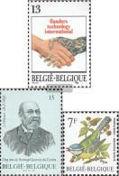 Belgium 2295,2300,2313 (complete Issue) Unmounted Mint / Never Hinged 1987 Technologies, Stamp, Birds - Belgium