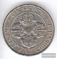 Bhutan 47 1979 Stgl./unzirkuliert Copper-Nickel Stgl./unzirkuliert 1979 25 Chhertum Fish - Bhutan