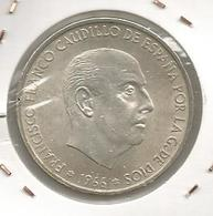 Monnaie, Espagne ,100 Pesetas , 1966 , Francico Franco Caudillo De Espana For La G. De Dios - [ 5] 1949-… : Royaume