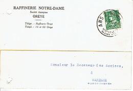 CP Publicitaire OREYE 1936 - RAFFINERIE NOTRE-DAME - Oreye