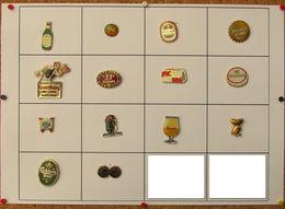 Lot De Pin's BIERES Dont Certains Signés Et Doré Or Fin - Bier