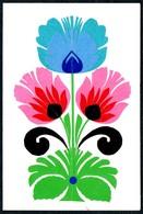 B7271 - Glückwunschkarte Klappkarte - Orig. Scherenschnitt Handmade - Silhouette - Scissor-type