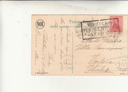 Buenos Aires, Post Card To Italy. 5 Centavo + Verificato Per Censura. Post Card 1917 - Argentina