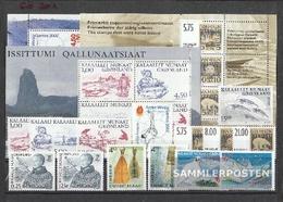 Dänemark - Grönland 2001 MNH Completa Volume In Pulito Conservazione - Danimarca