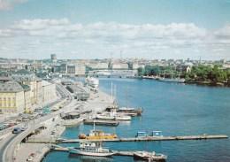 Skeppsbron, View From The Katarina Elevator, Stockholm, Sweden - Unused - Sweden