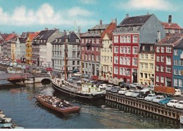 Nyhavn, 17th Century Waterfront, Copenhagen, Denmark - Unused - Denmark