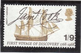M1 - PO 513 ** MNH De 1968 - JAMES COOK - Bicentenaire Du Premier Voyage. - 1952-.... (Elizabeth II)