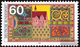 BRD (BR.Deutschland) 1622 (kompl.Ausg.) FDC 1992 Botan. Garten - [7] République Fédérale