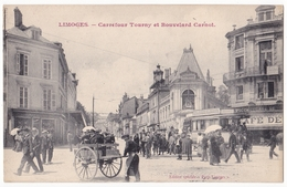 Limoges , Carrefour Tourny Et Boulevard Carnot - Limoges
