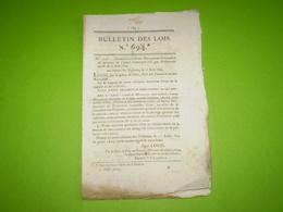 Lois 1824:Nominations Dans La Marine.Création équipage De Ligne Brest & Toulon & Ministère Des Affaires Ecclésiastiques - Decrees & Laws