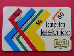 COSTA RICA - ICE GPT  50 ₡ First Issue Small CN ? : 1CORA014490 1988 COR Used (BA0417) - Costa Rica
