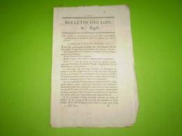 Lois 1824:Abattoir Public à Vesoul.Enseignement Collège Royal De La Marine.Legs Thoissey,Voiron,Daon,St Vallier .... - Decrees & Laws