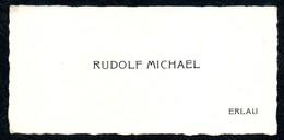 B7276 - Erlau - Rudolf Michael - Visitenkarte - Visitenkarten