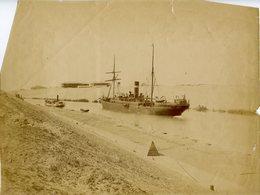EGYPTE - ZANGACKI - Bateaux Sur Le NIL - Circa 1875-1880 - Afrique