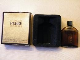 MONDOSORPRESA, MIGNON PROFUMI, UOMO, GIANFRANCO FERRE' - Modern Miniatures (from 1961)