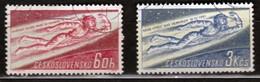 Czechoslovakia 1961 Mi 1263-1264 CTO - Tschechoslowakei/CSSR