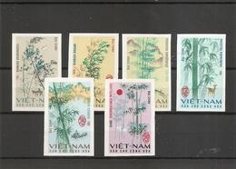 Vietnam Du Nord - Arbres ( 527/532 Non Dentelés XXX -MNH) - Vietnam