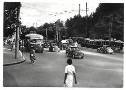 RN249 - RIMINI - LARGO AMERIGO VESPUCCI - AUTO D'EPOCA - F.G. VIAGGIATA 1954 - Rimini