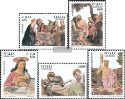 Italien 2684-2688 (completa Edizione) MNH 2000 Santo Anno - Dipinti - 6. 1946-.. República