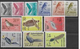 BURMA - 1964 - YT N° 90/101 ** - COTE = 55 EURO - THEME : OISEAUX / BIRDS - Myanmar (Burma 1948-...)