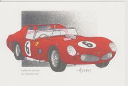24 Heures Du MANS 1962 1er FERRARI 330 LM De J.THOMAS - Le Mans