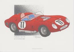 24 Heures Du MANS 1960 1er FERRARI 250 TR De J.THOMAS - Le Mans