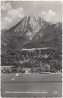 Faakersee-Sandbank Mit Mittagskogel 2144 M. Karnten, Austria, 1962 Used Real Photo Postcard [21870] - Faakersee-Orte