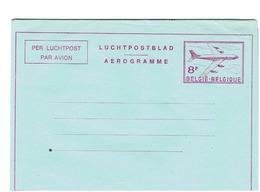 AEROGRAMME -8F - Stamped Stationery