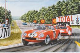24 Heures Du MANS1966  FERRARI 275 GTB  De B.DELIEGE - Le Mans