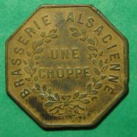 68 - Sainte-Marie-aux-Mines - Brasserie Alsacienne - Bon Pour Une Choppe - Alsace - Monetary / Of Necessity