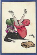 CPA Naillod écrite Art Nouveau Femme Girl Women Mode Chapeau Patins à Roulettes Skating Roller érotisme - Naillod