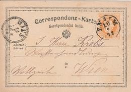 Autriche Entier Postal Znaim 1872 - Stamped Stationery