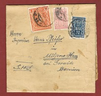 Infla Ab 18 Sep.1922   Ausland  Drucksache - Brieven En Documenten
