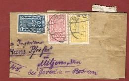 Infla Ab 18 Sep.1922   Ausland  Drucksache - 1918-1945 1. Republik